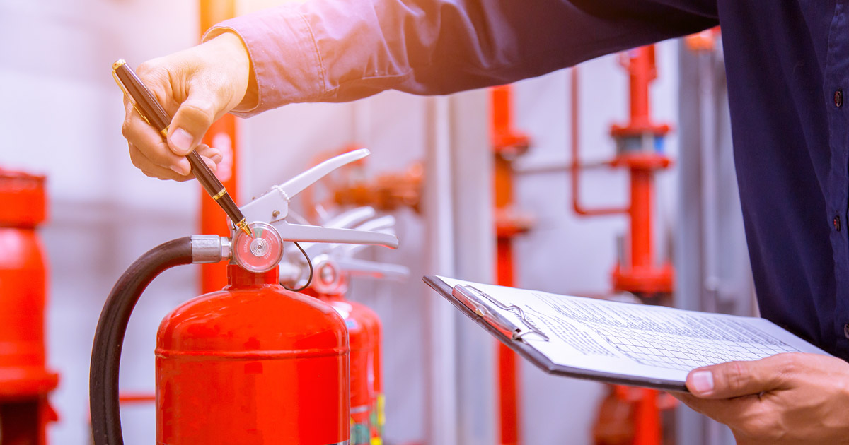 How is Fire Extinguisher Barcode Software Beneficial?